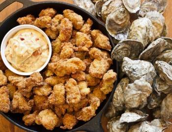 fried oysters port aransas