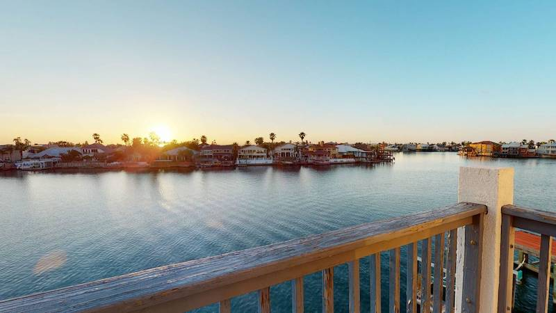 A view from a Port Aransas vacation rental